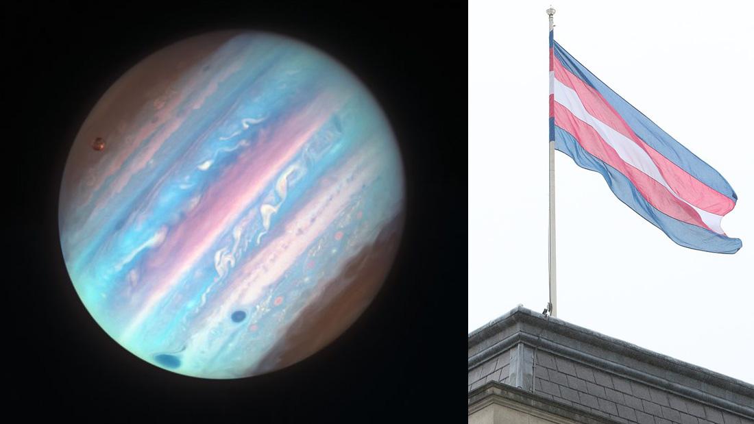 在太陽系,木星向全宇宙表態支持跨性別人權!