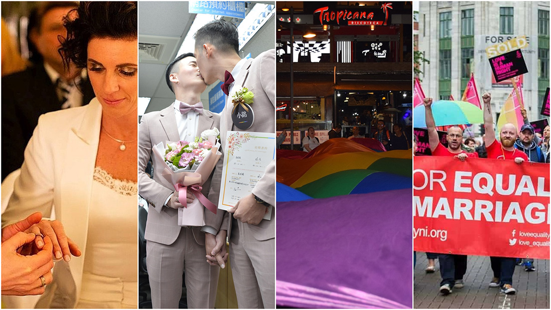 2019,台灣跟這些國家同性婚姻合法化了!