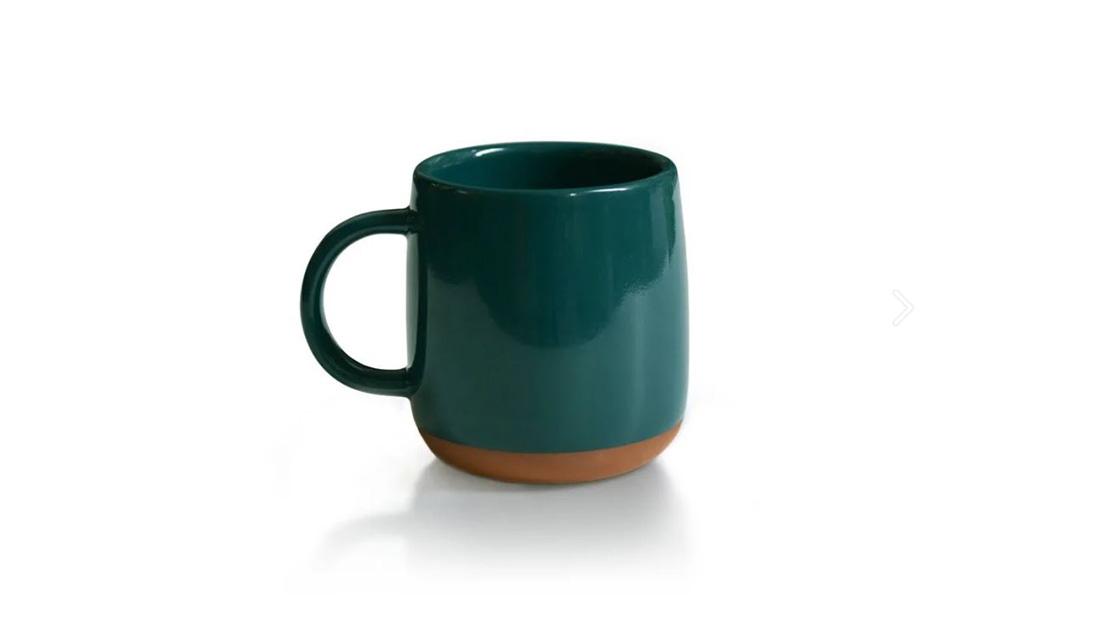 選物》在冬日啜飲一口濃濃的綠!厝內 X 貳房苑 潮州綠紅陶釉燒馬克杯
