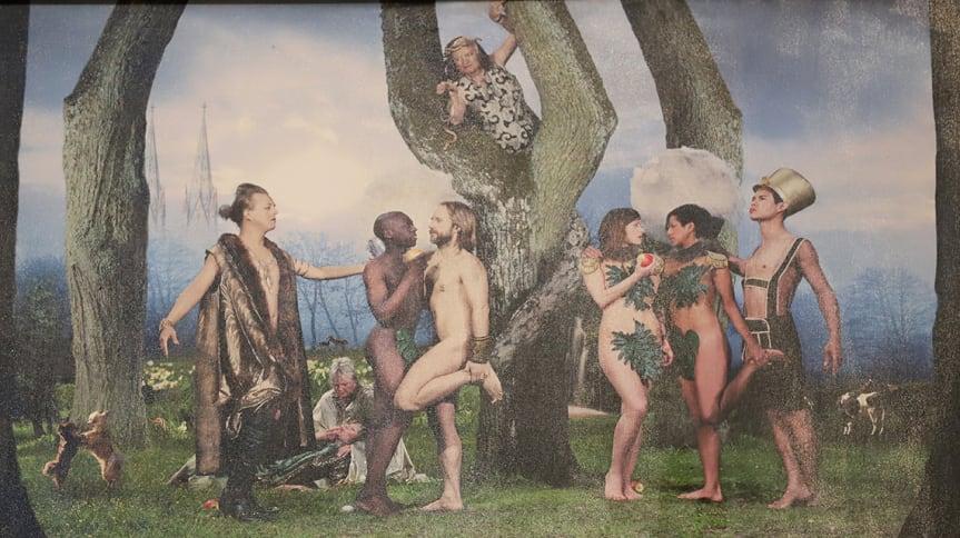 當伊甸園不只有亞當和夏娃,瑞典教堂接受同志藝術家爭議新作寫下歷史