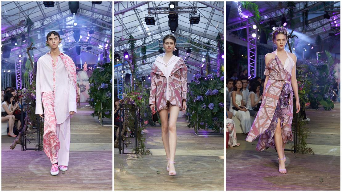 華裔設計師Daniel Wong 融合自然元素,春夏大秀綻放花樣多元之旅
