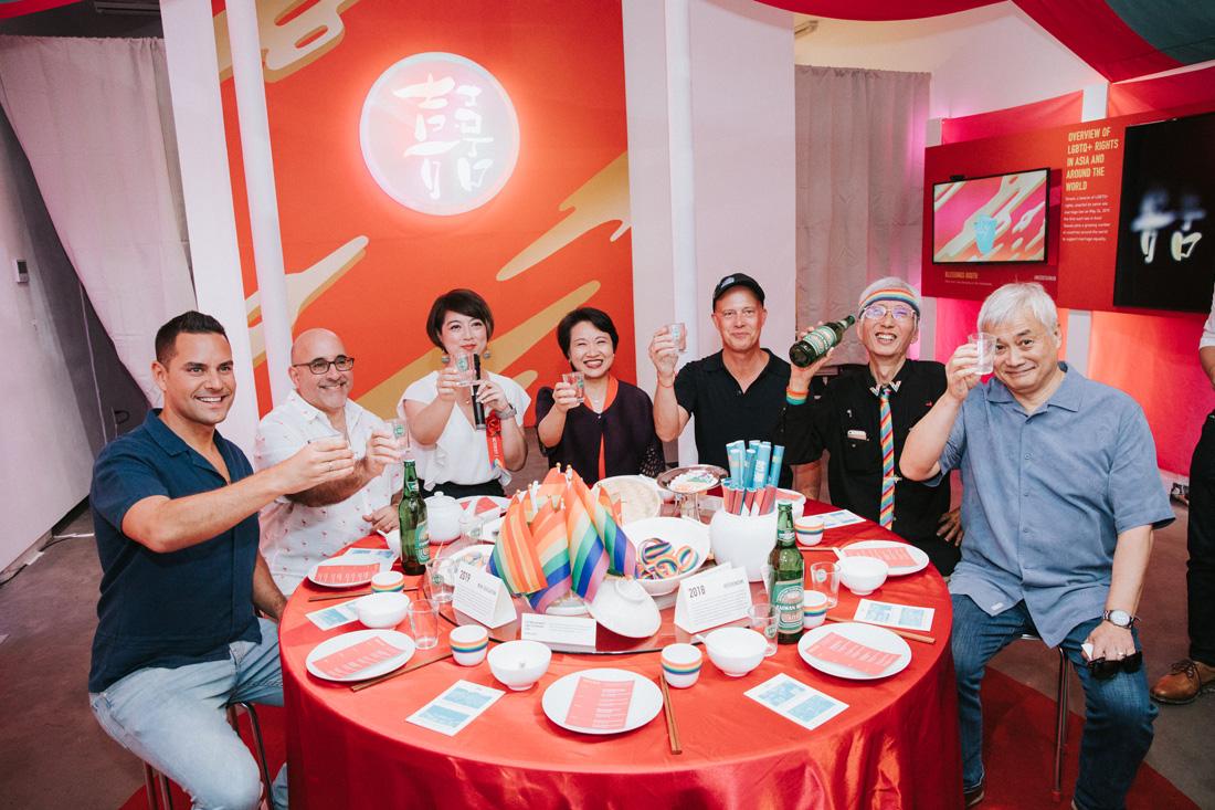 台式《囍宴》現身紐約同志驕傲月 與世界分享台灣同婚喜悅