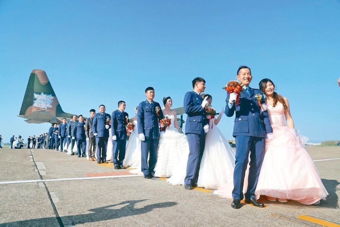 空軍同婚官兵退出 國軍聯合婚禮將無同婚新人