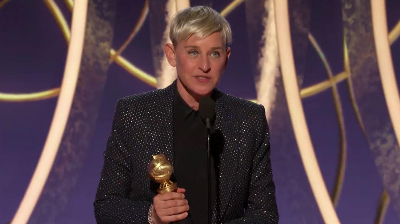 艾倫狄珍妮獲金球獎終身成就獎,引言人凱特麥金農:看到艾倫讓同志減少恐懼