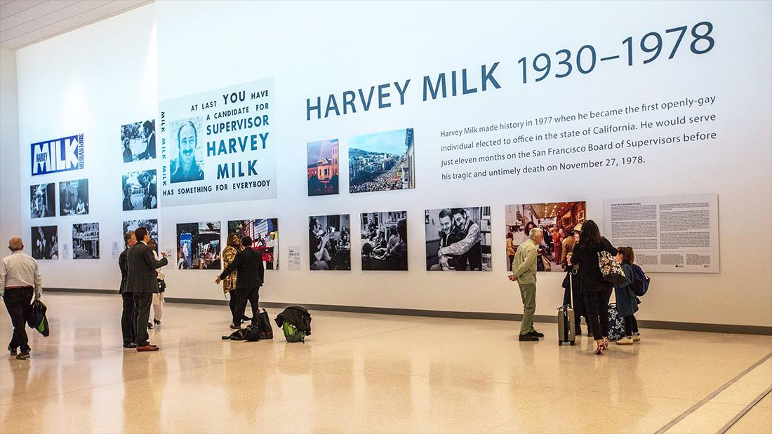 舊金山國際機場致敬平權先鋒,以哈維米克為第一航廈命名