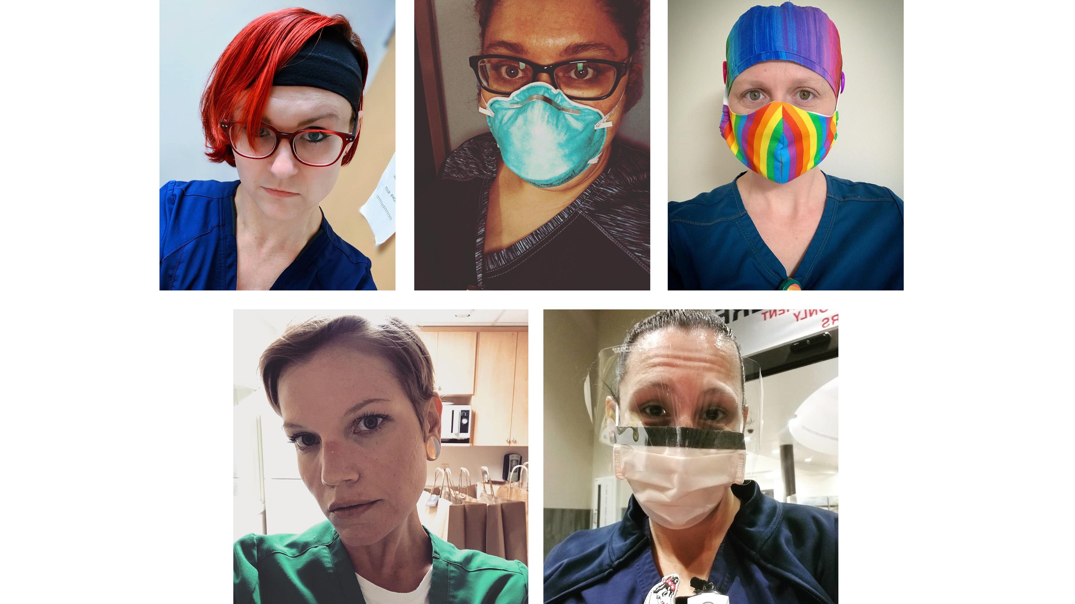 醫療前線的彩虹戰士:對抗疫情的拉拉醫護人員