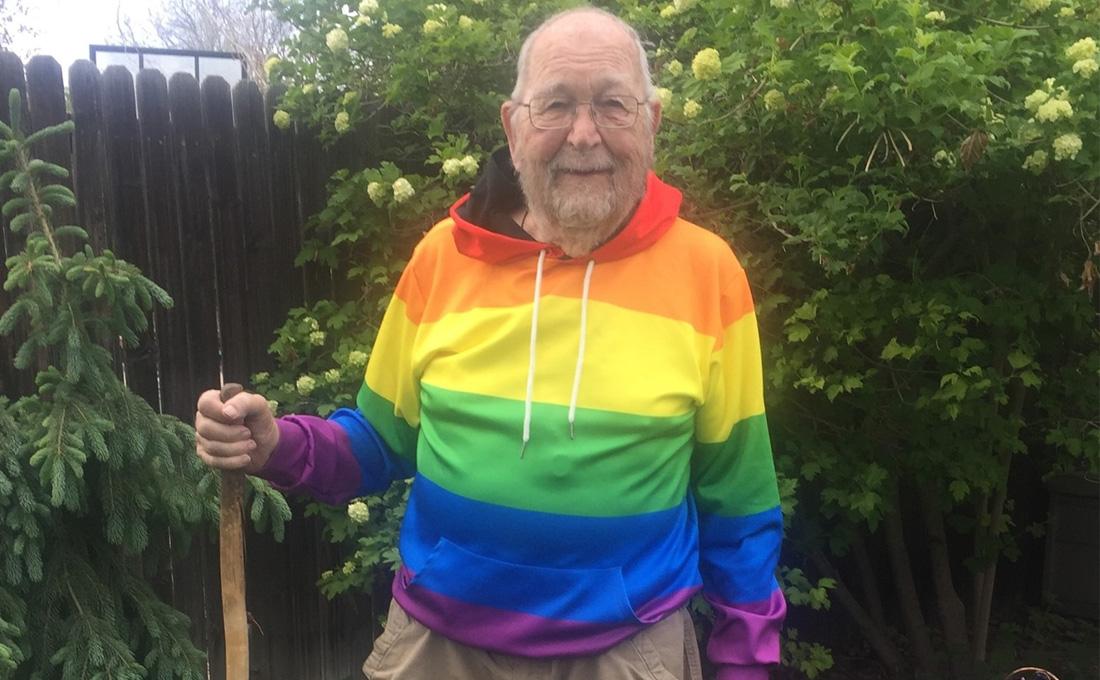 疫情與隔離讓90歲的他決定出櫃,美國老翁:成為真正的自己,永不嫌遲