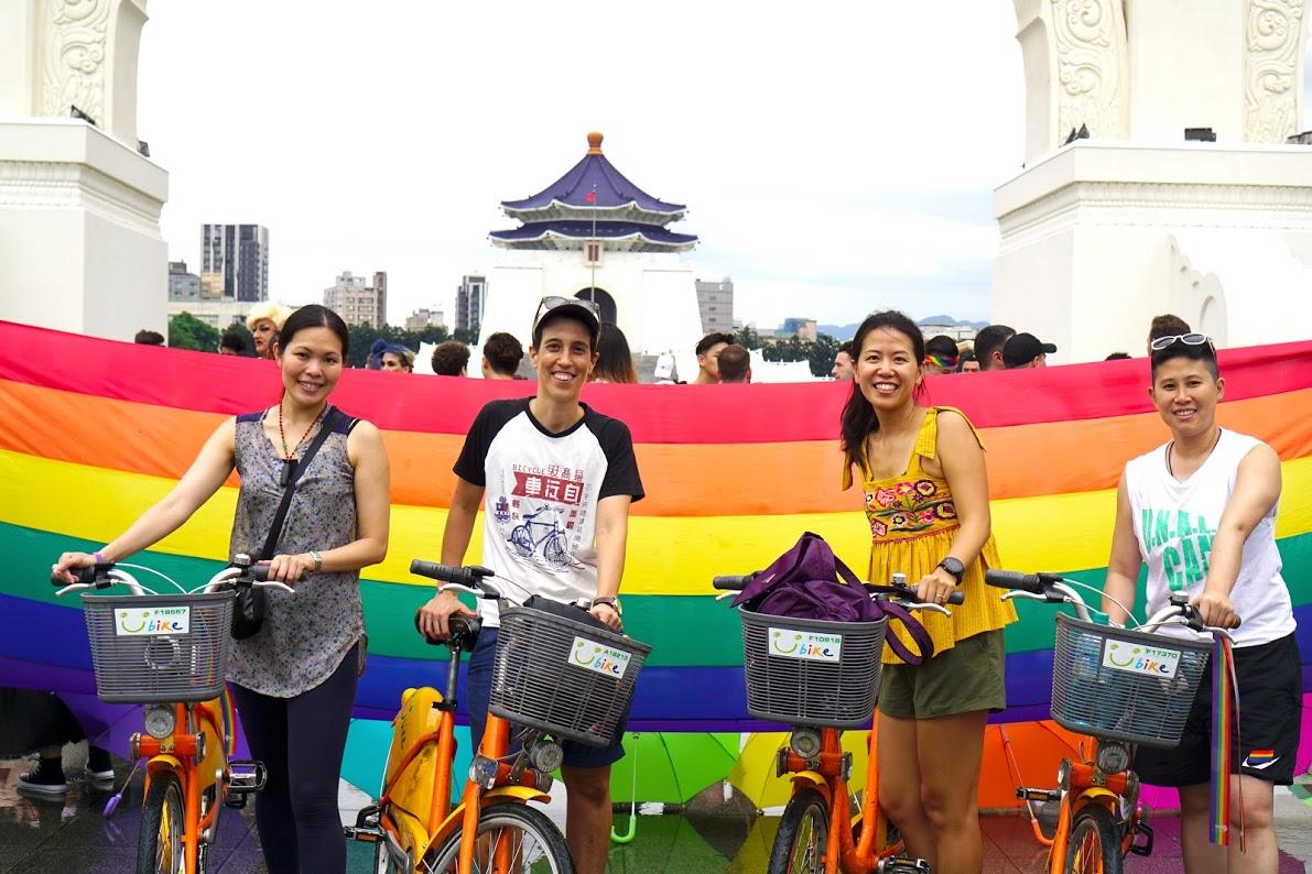 同志驕傲月初登場,亞洲首屆彩虹騎行為LGBT+與平權而騎