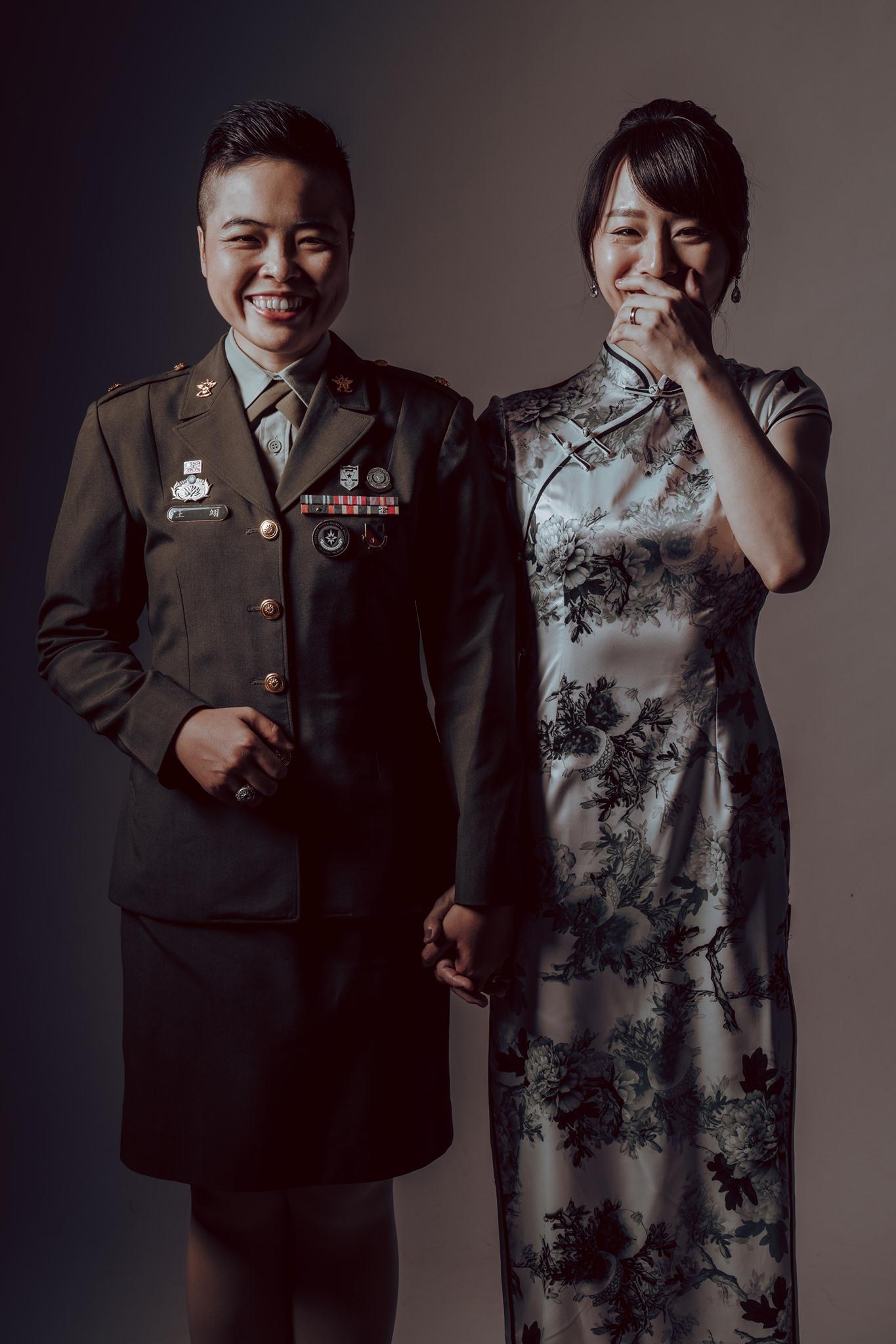 國軍同婚首曝光 「她們」將參加陸海空軍聯合婚禮
