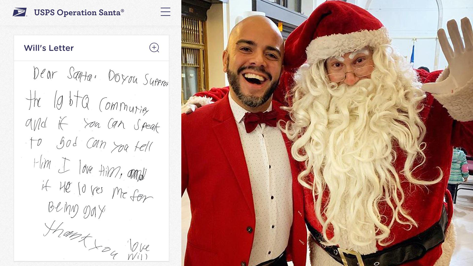 同志小男孩寫信給耶誕老人,意外收到暖心好禮!