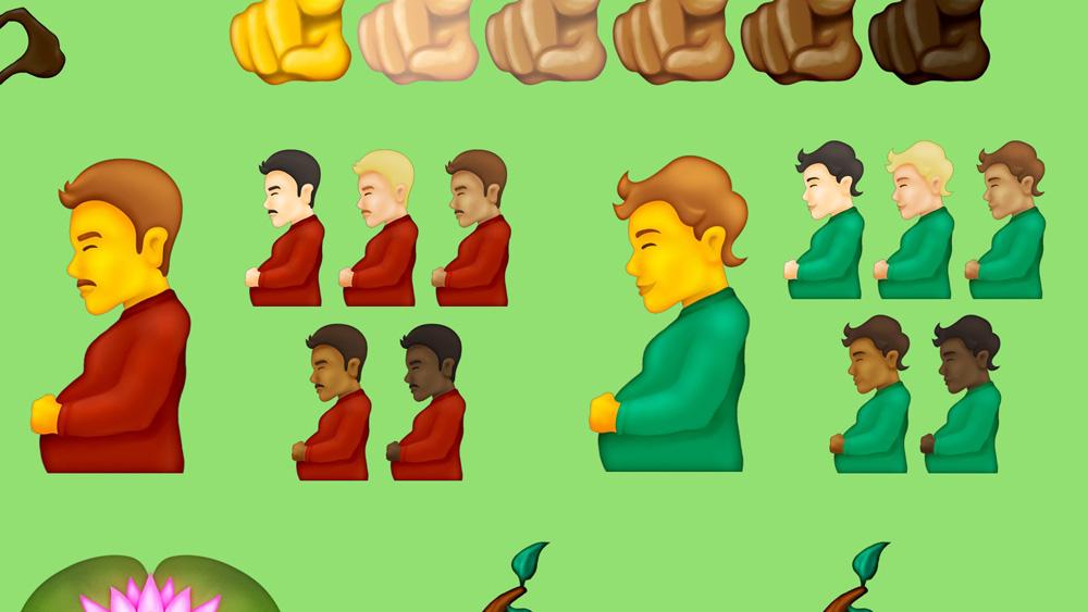 新表情符號提案:懷孕的男人入列!