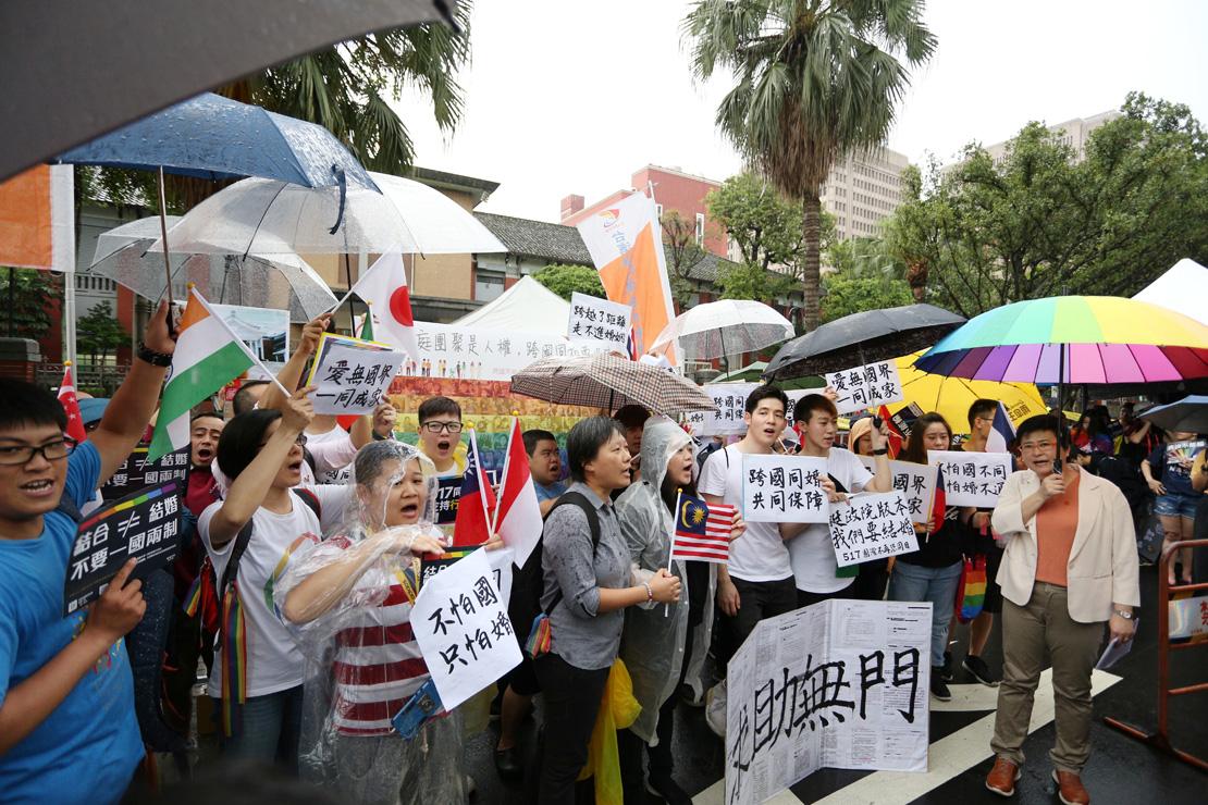 他們還未獲得保障,跨國同性伴侶呼籲政府提出完整配套
