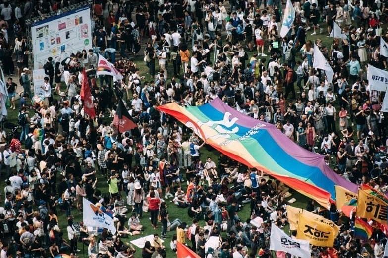 南韓同志大遊行人數破紀錄,期盼效法台灣同婚合法化