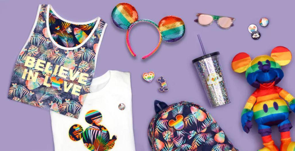 歡慶驕傲月迪士尼推出彩虹系列商品,部分收入捐性平組織