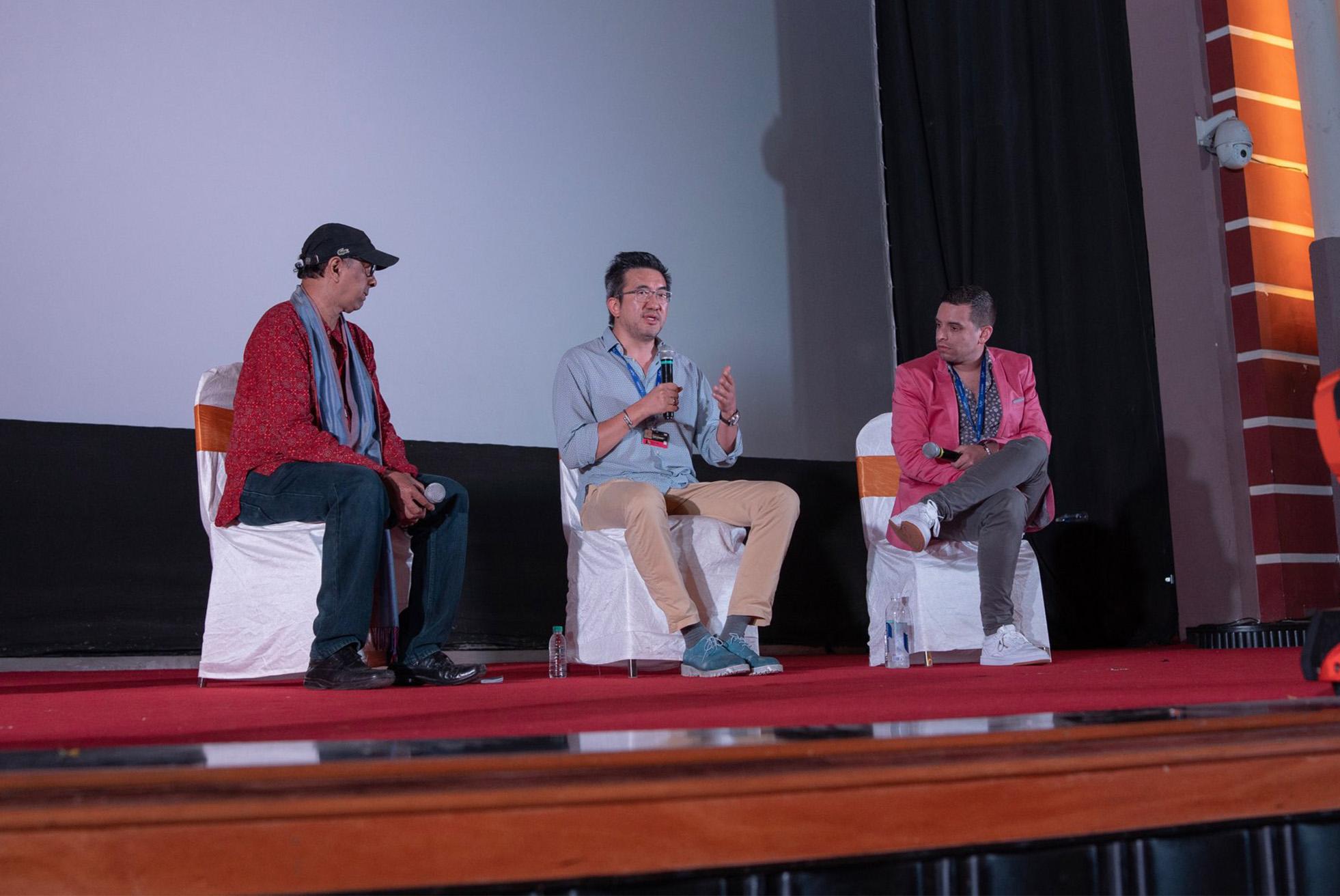 酷兒影視集團創辦人林志杰坎城國際創意節進行演說,分享台灣經驗