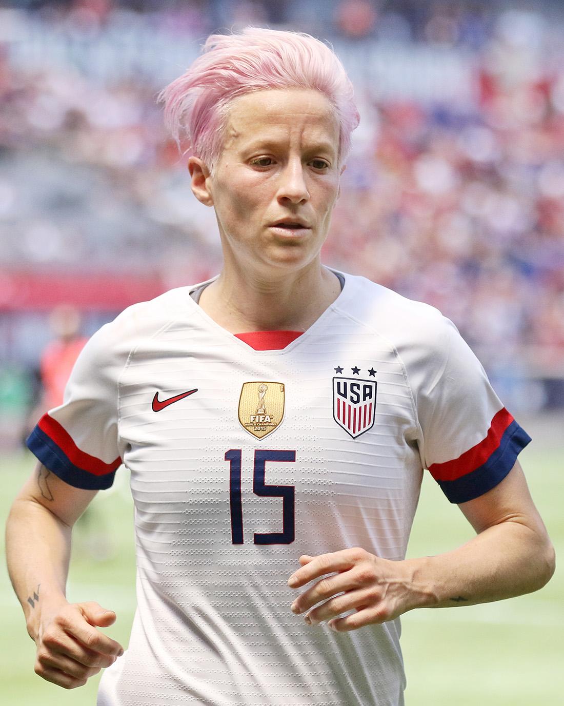 美國女足出櫃隊長賽前嗆川普,率隊世界盃奪冠二連霸