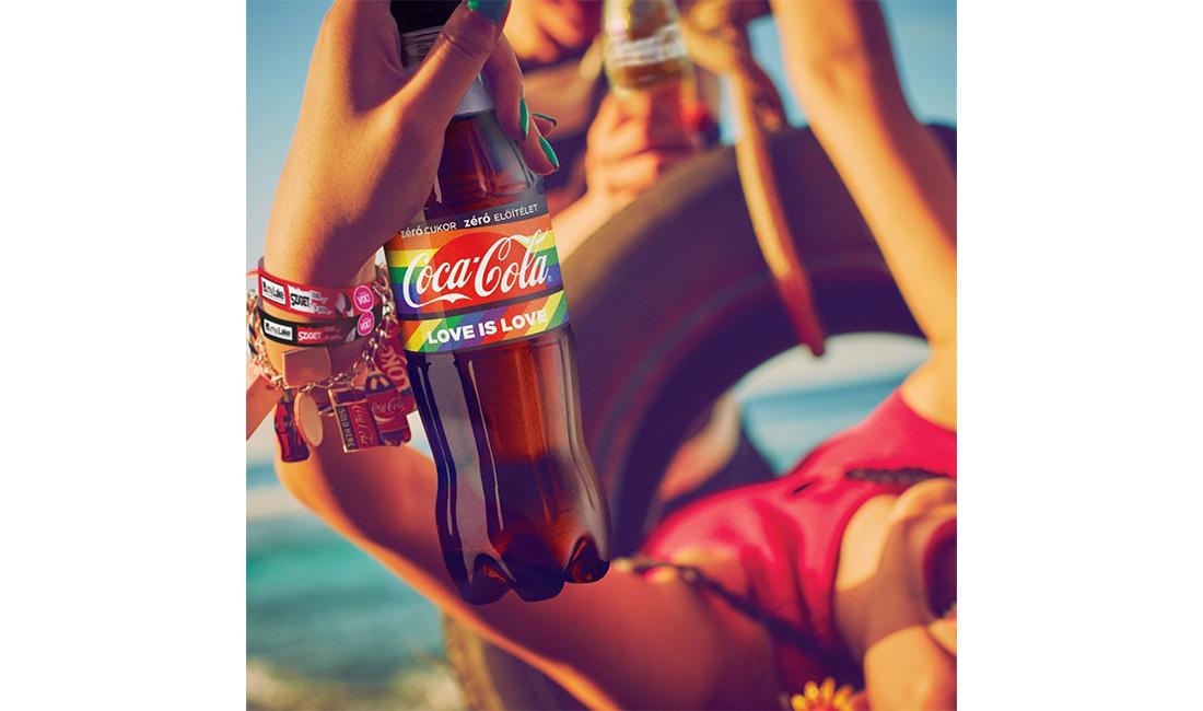 可口可樂不畏匈牙利反同抵制,推出彩虹瓶力挺多元性別
