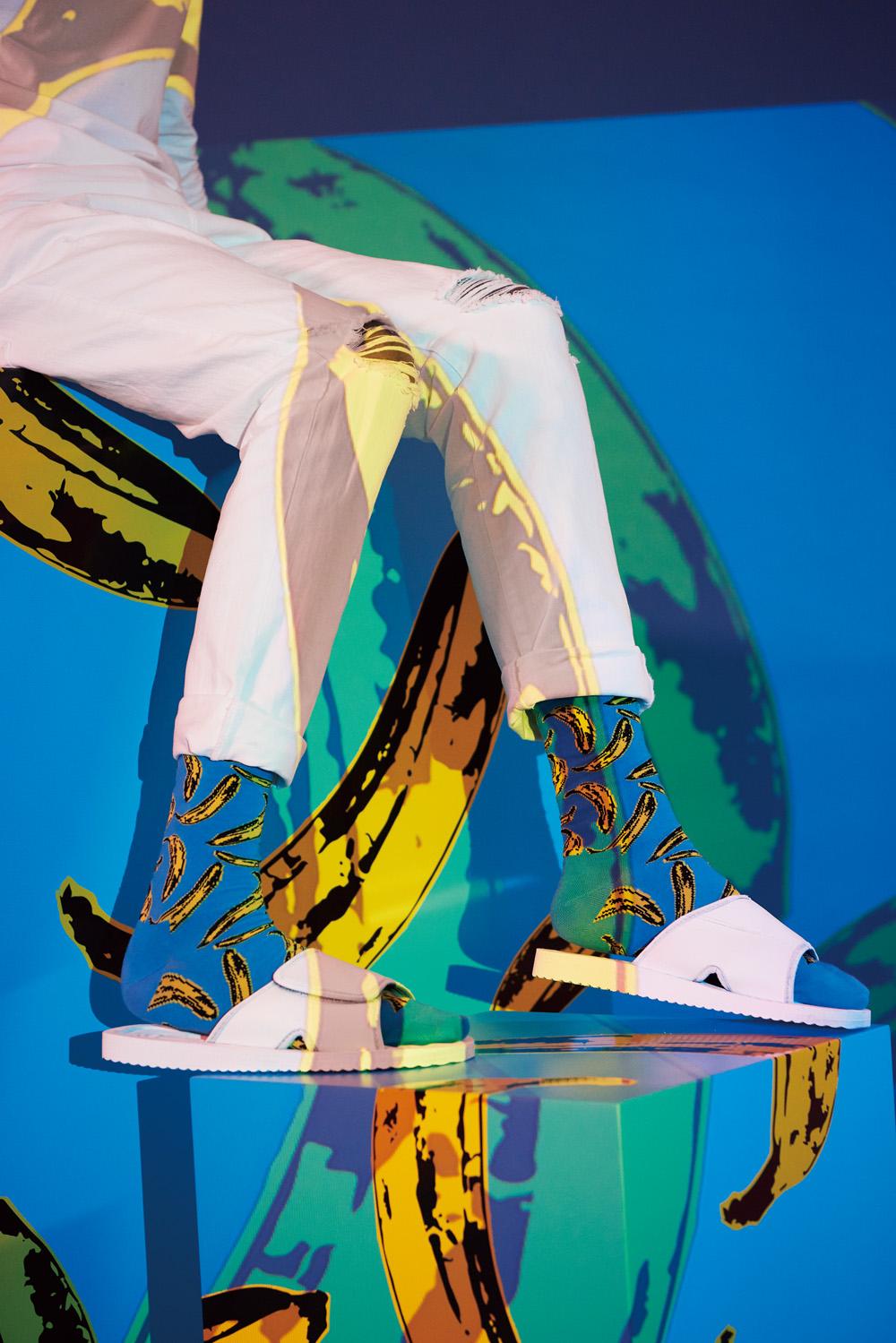 選物》Happy Socks X Andy Warhol