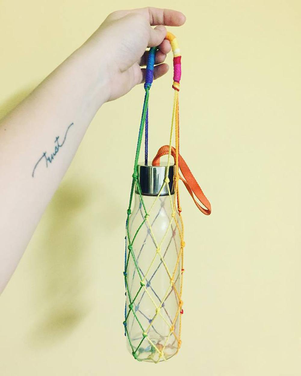 選物》彩虹結網袋,讓我們一起友善環境